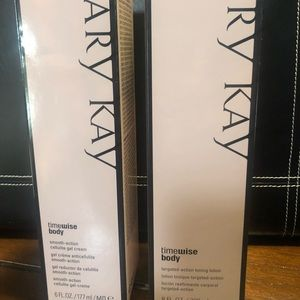 Mary Kay cellulite gel cream & toning lotion